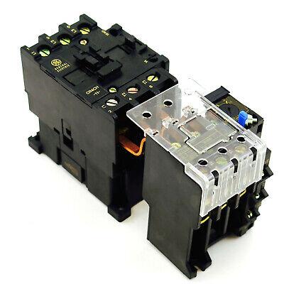 New Ge Magnetic Starter Choose Contactor Coil Voltage Overload Relay Amp Range