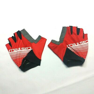 XXL Castelli Prima Winter Cycling Gloves Red Yellow Size S//M