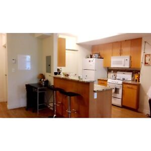 2 bedroom 2 level townhouse downtown