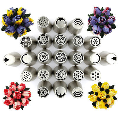 Russian Tulip Flower Icing Piping Nozzles Decor Tips Pastry Cake Diy Baking Tool