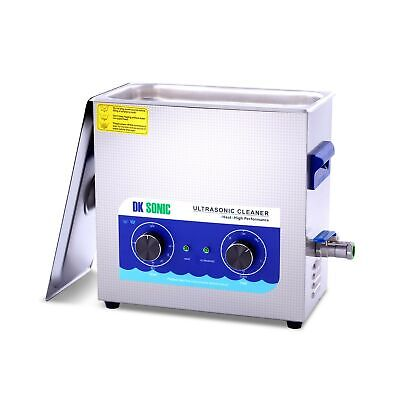 Large Ultrasonic Gun Cleaner Heated Dk Sonic 6l 180w Ultrasonic Parts Cleaner