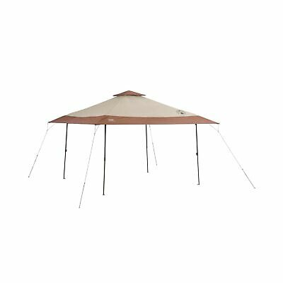 Coleman Instant Pop-Up Canopy Tent and Sun Shelter, 13 x 13
