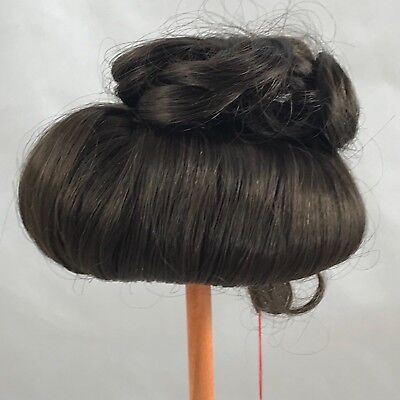 """Doll Wig by Monique Gibson 8""""-9"""" Dk Brown (5)"""