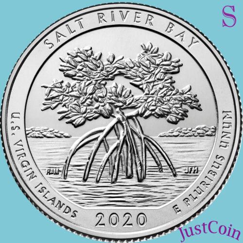 2020-S SALT RIVER BAY (US VIRGIN) NATIONAL PARK UNCIRCULATED QUARTER
