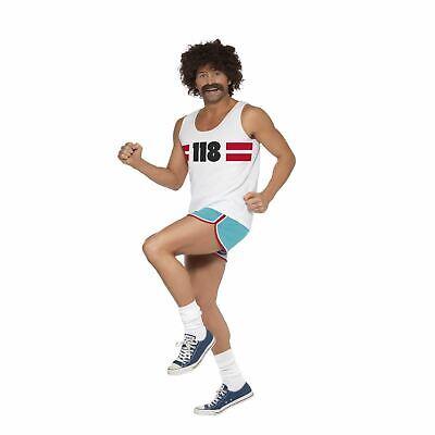 Offiziell Herren 118 Runner Hirsch Do Kostüm Erwachsene Top Shorts - Hirsch Kostüm Outfit