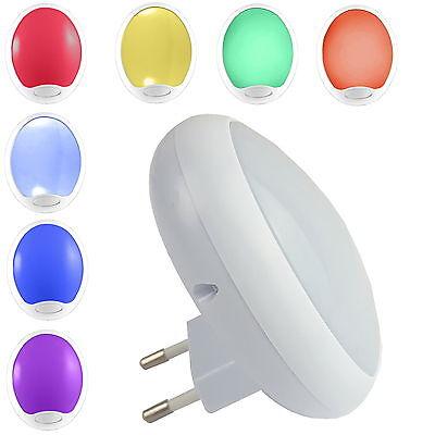 LED Nachtlicht mit Farbwechsel Nachtlampe Lampe Leuchte Orientierungslicht Licht