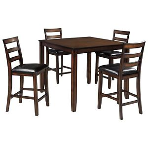 5pc Counter height Dinette & 4 Chairs Clearance Floor Model