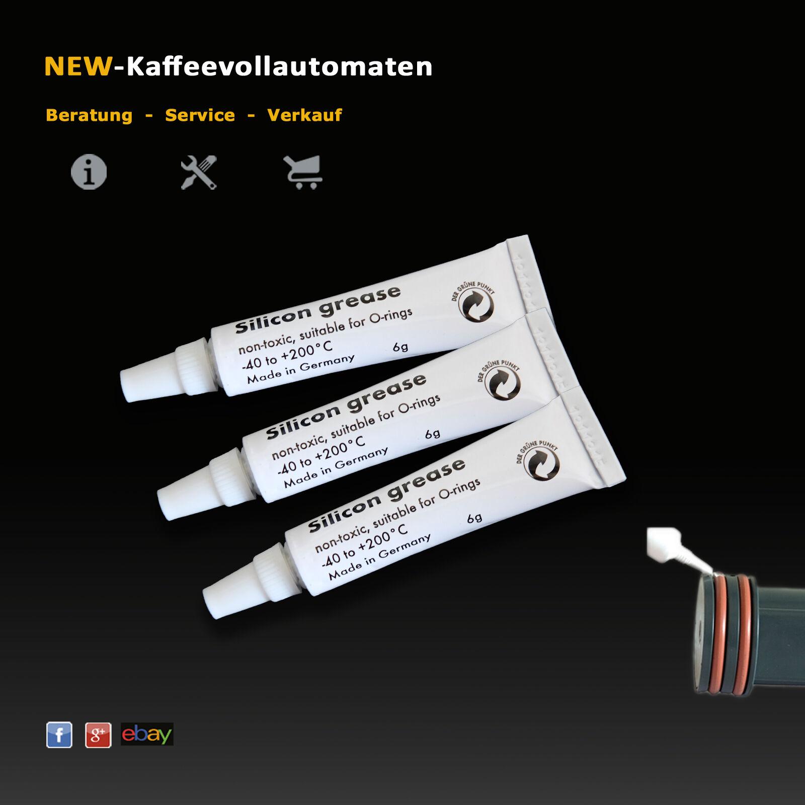 Silikonfett Hahnfett lebensmittelecht zu O-Ring Dichtung von Kaffeevollautomaten
