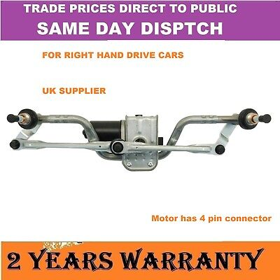 FRONT WINDSCREEN WIPER MOTOR & COMPLETE LINKAGE FOR SCUDO EXPERT DISPATCH NEW