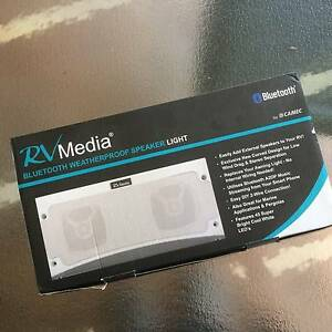 RV Media Bluetooth Weatherproof Speaker and Awning Light Lake Haven Wyong Area Preview