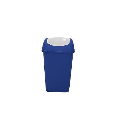 Schwingdeckeleimer 9 l blau Mülleimer Abfalleimer Müllentsorgung