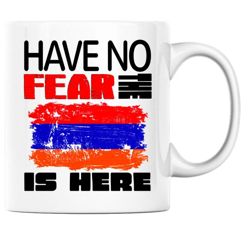 Have No Fear the Armenian is Here Funny Coffee Mug Armenia Heritage Pride
