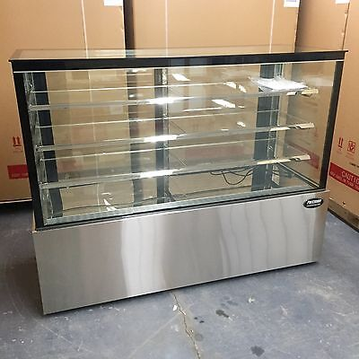 Bakery Display Case Refrigerator Pastry 60 Display Deli 5 Cake Show Case New