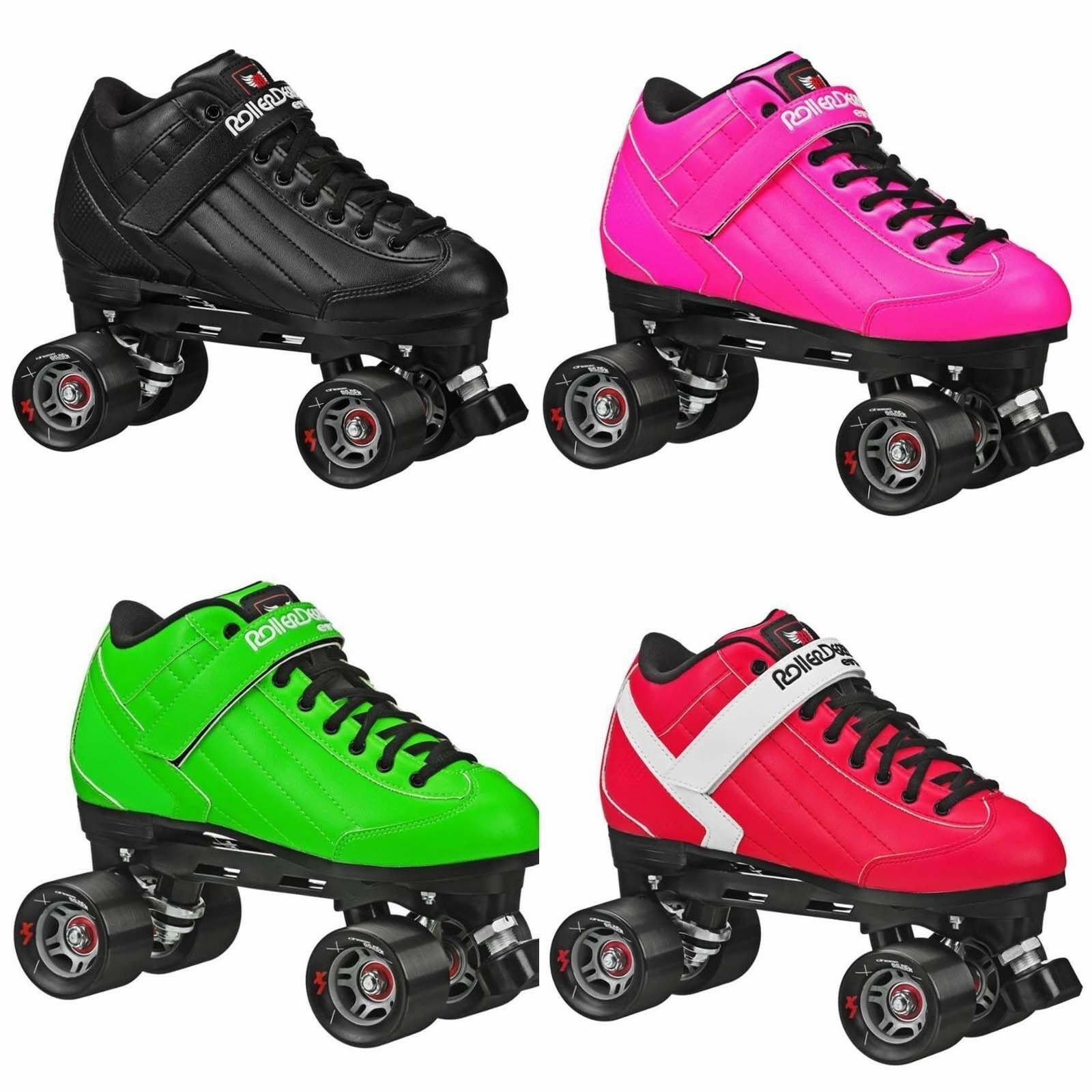 New Adult Roller Derby Elite Stomp 5 Speed Skates Men Size 4
