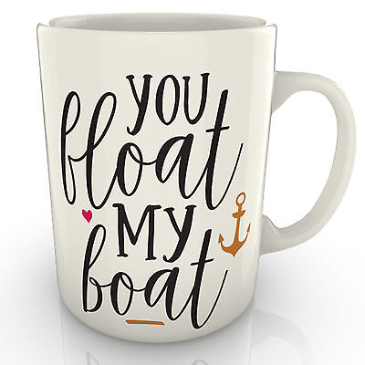 Boot-becher (You Schwimmer My Boot - Becher - Valentins Jubiläum Geburtstag Geschenk)