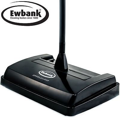 EWBANK CARPET SWEEPER Lightweight Manual Speed Sweep Floor Cleaner Silent EB0260