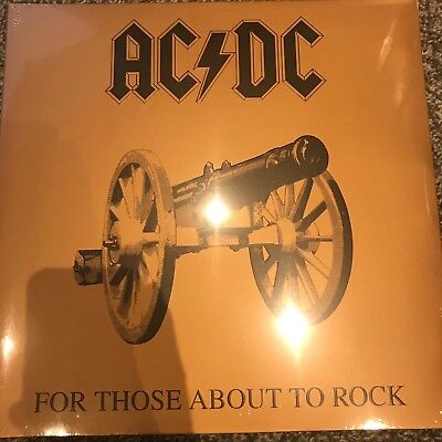 AC/DC - For Those About To Rock We Salute You - Vinyl LP - New & Sealed
