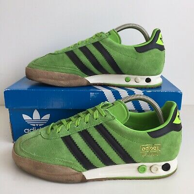 Adidas Kegler Green Suede Size 7 With OG Box