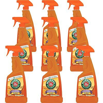 Colgate Palmolive Murphy Oil Soap Wood Cleaner 22Oz  9 Ct Orange 01031Ct