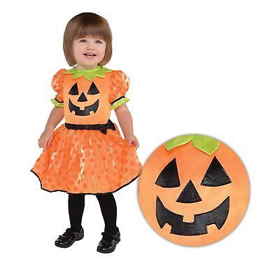 Mädchen Baby Kleinkind Süß Kürbis-kostüm Halloween Kostüm 0-24 Months