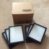 """1 - Box (of 6) 6 x 8"""" x 3/4"""" Display Cases (""""Riker"""" type - Made in USA)"""