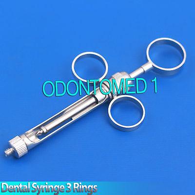 Dental Aspirating Syringe 2.2 Ml Dental Surgical Instrument Stainless Steel