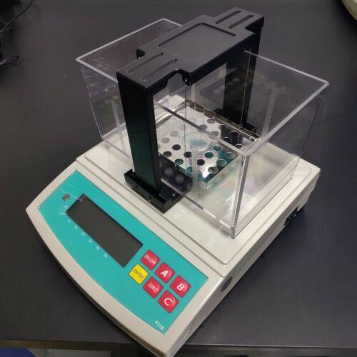 Solid Density Meter Rubber Plastic Densimeter Electronic Gravimeter RS232 port