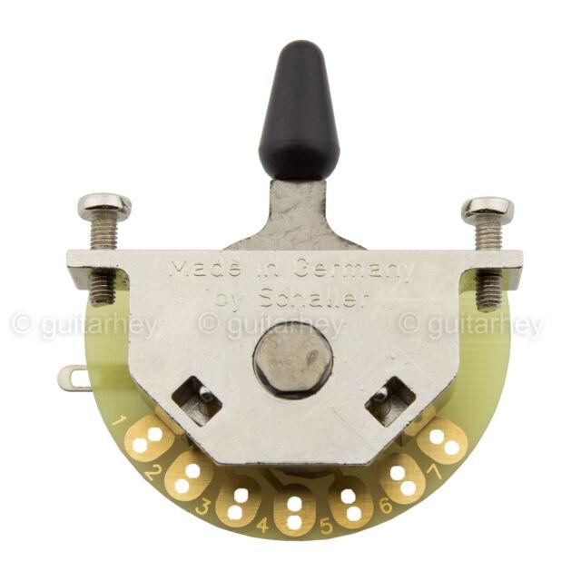 allparts schaller megaswitch mega switch e model 5 way 15310002 ebay Schaller 5 Way Switch Wiring Diagram new schaller 5 way megaswitch model e for advanced pickup switching mega switch schaller 5 way switch wiring diagram