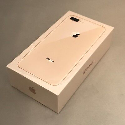 New Sealed in Box Apple iPhone 8 Benefit 64GB Gold AT&T Smartphone 1 year commitment