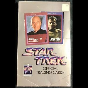 Factory sealed box of Star Trek Official Trading Cards
