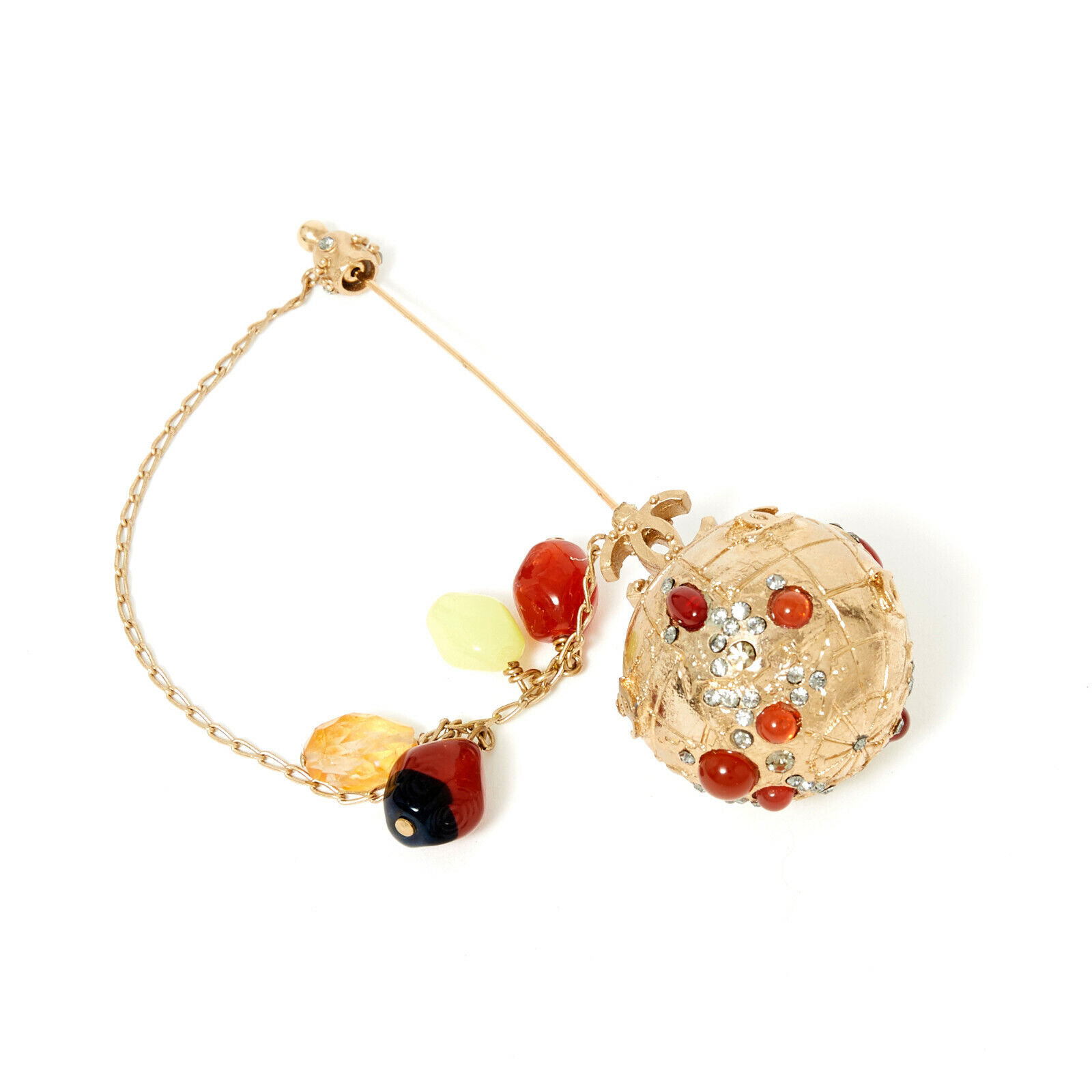 Chanel broche brooch collection monde ss 2004