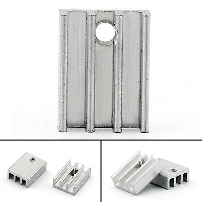 40pcs Heat Sink Cooler 11x5x15mm Radiator For Power Cpu Transistormosfetic Ua