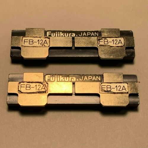 Fujikura FB-12A Fiber Holder Set For Ribbon Fusion Splicer