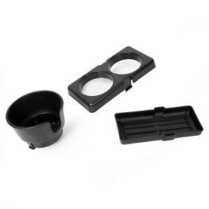 For 1990-1997 Mazda Miata  MX-5 Black Ash Tray Cup Holder Center Console New