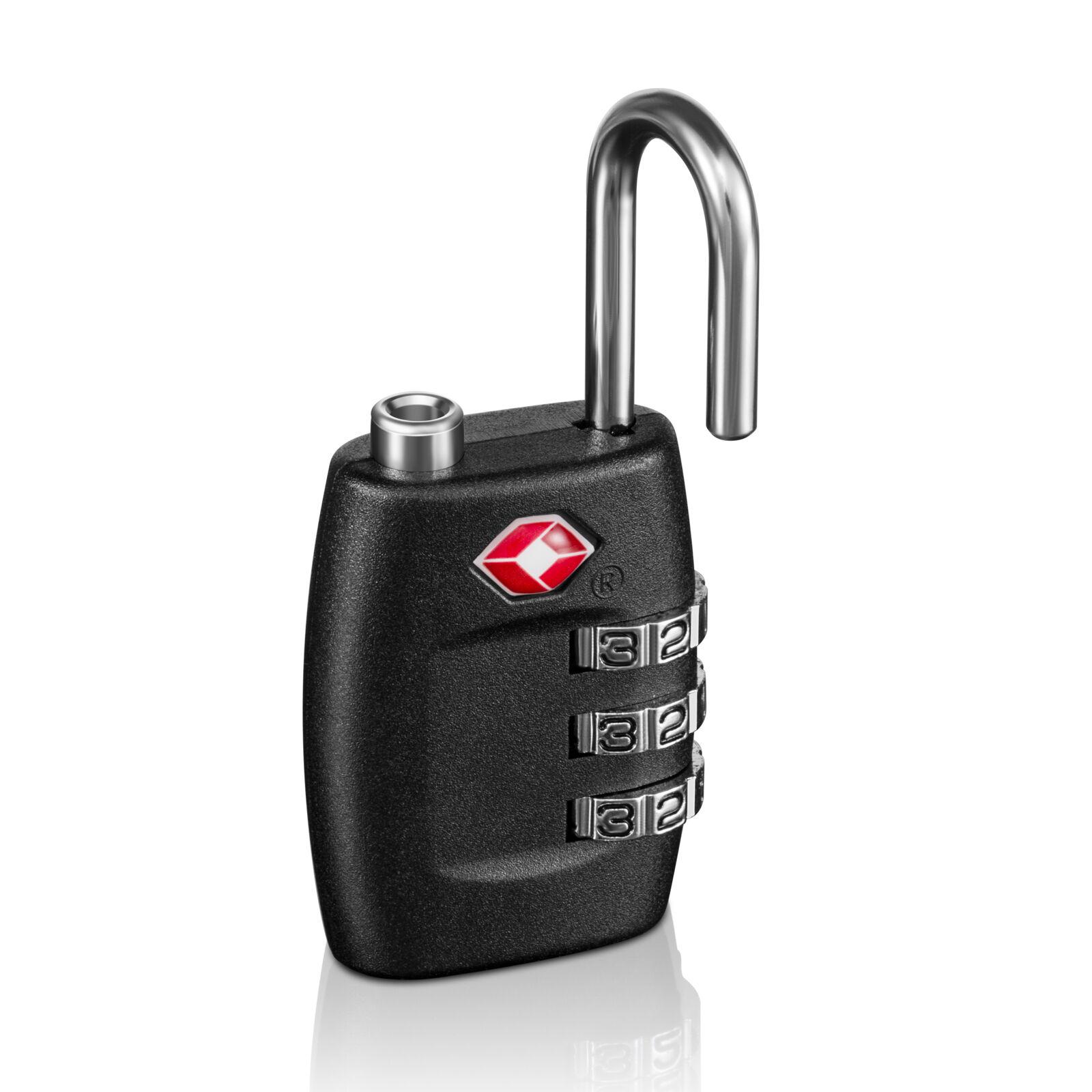 BG 4 x TSA Lock Travel Luggage 3 Digit Combination Resettable NEW TL01 (4 pcs)