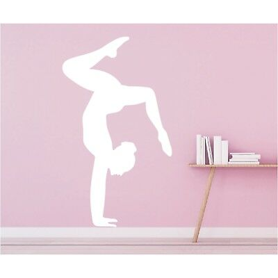Wandtattoo Sportschatten Turnen Gymnastik Handstand Wandsticker Wandaufkleber