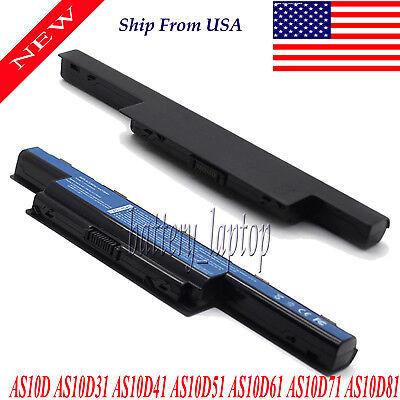 Laptop Battery For Acer Aspire 5741G 5742G 5742ZG 5742Z 7750G 7750 4741 AS10D73