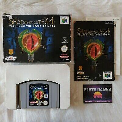 Jeu Shadowgate 64 pour Nintendo 64 N64 - PAL Complet CIB - Floto Games