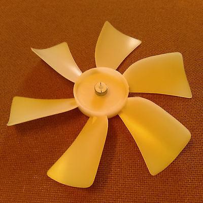6 Inch Diameter Plastic Fan Bladepropeller. 316 Inch Bore. Cw Rotation.