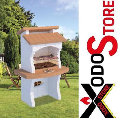 Barbecue a carbonella e legna EUROPA modello OSLO - chiama x sconto