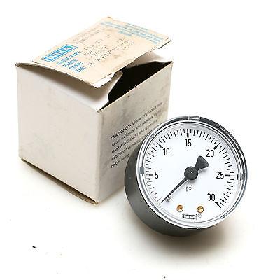 Wika 2 Pressure Gauge 0-30psi 18 Npt Male