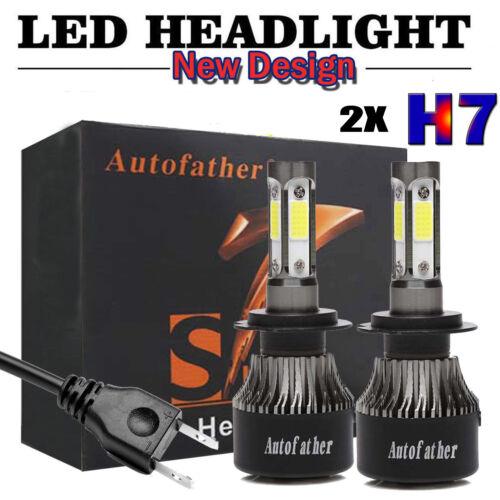 Car Parts - 2X H7 LED Headlight Kit 480W High or Low Beam Bulbs 6000K Bright VS Xenon HID