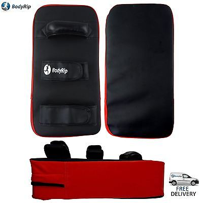 BodyRip MMA BOXING KICK TARGET PUNCHING PAD EXERCISE SHIELD KARATE TAEKWONDO GYM