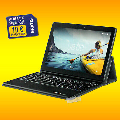 Medion Lifetab E10604 MD 61041 Tablet PC Netbook LTE Android 8.1 GPS Wlan 32GB