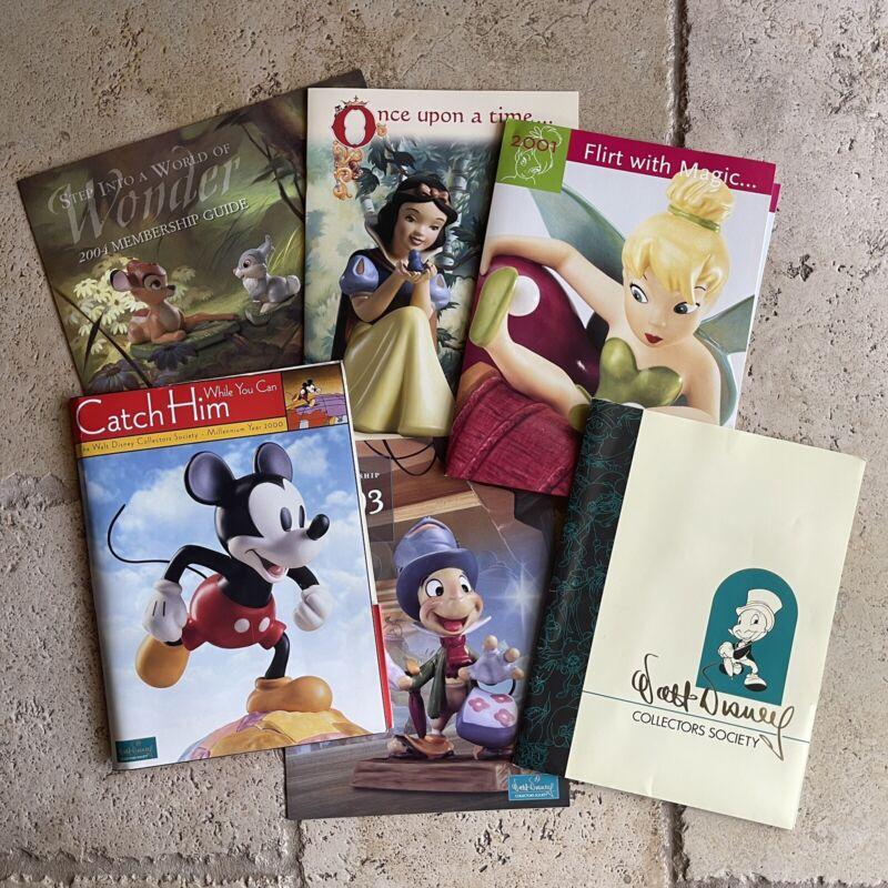 Walt Disney Collectors Society - Folders - LOT OF 6