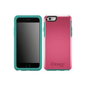 half off 1e7af 03683 OtterBox Symmetry Series Case Teal Rose Pink for iPhone 6 6s