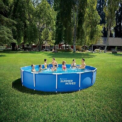 👙🔥NEW! Summer Waves 15 FT Active METAL FRAME Above Ground POOL 📦Ships Today!