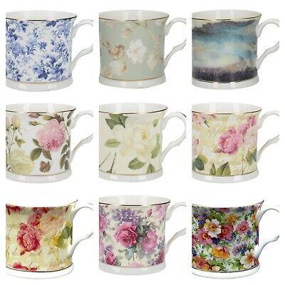 Fine bone china mug gold rimmed Creative Tops Palace Mugs Assorted Bone China Fine China Mug
