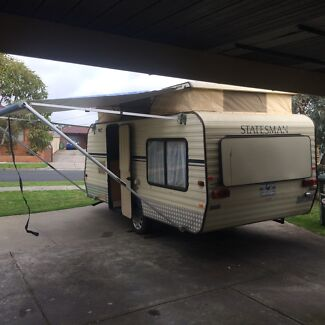 17' Windsor statesman pop top. 1990 Craigieburn Hume Area Preview