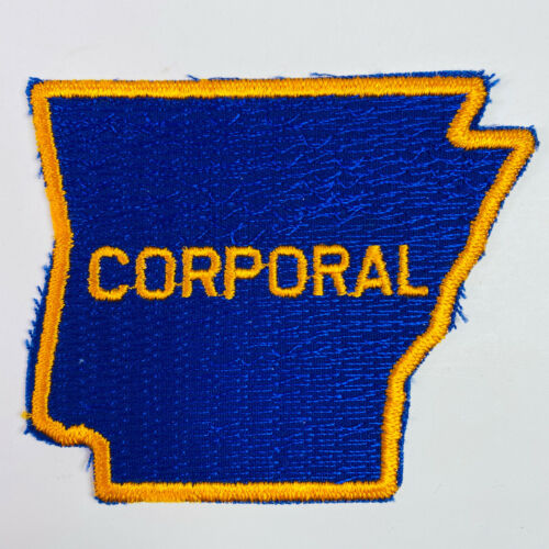 Corporal Arkansas State Police Trooper Patch